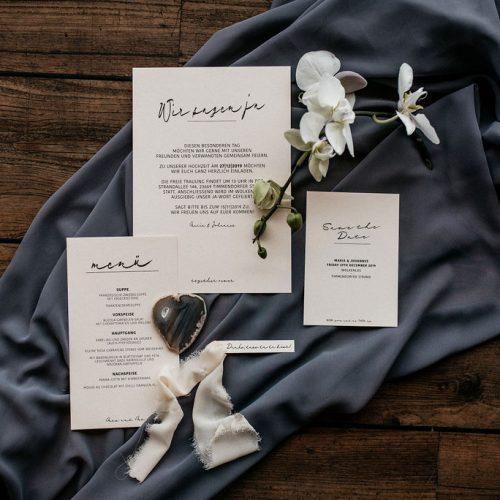 Hochzeitspapeterie by Isabel Merfort